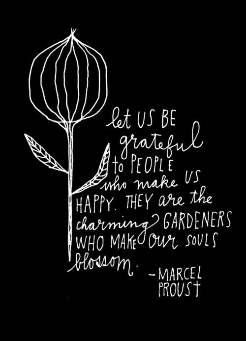 marcel proust - quote grateful